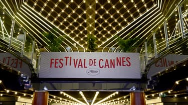 La 66ème édition du Festival de Cannes se déroulera du mercredi 15 au dimanche 26 mai pour dix jours placés sous le signe du cinéma et du glamour. Ici, l'entrée du palais des festivals.
