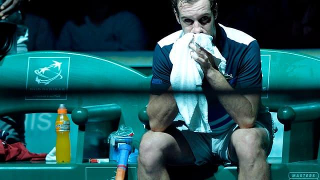 Richard Gasquet s'est incliné face à Rafael Nadal en quarts de finale du Masters 1000 de Paris-Bercy