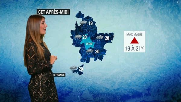 La météo ce jeudi 17 octobre à Lyon.