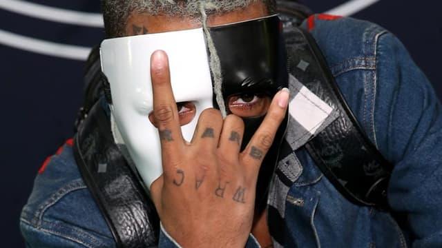 Le rappeur XXXTentacion en octobre 2017 à Miami.