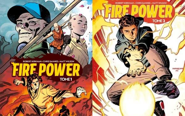 """""""Fire Power"""", la nouvelle BD de Robert Kirkman, le créateur de """"The Walking Dead"""""""