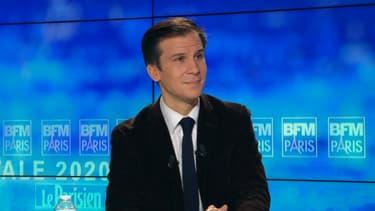 Gaspard Gantzer était l'invité de BFM Paris ce jeudi soir