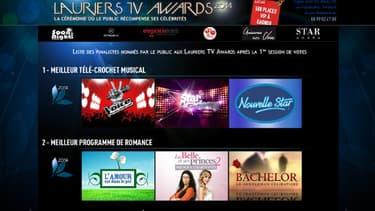 Les Lauriers TV Awards récompensent jeudi soir le monde merveilleux de la télé-réalité.
