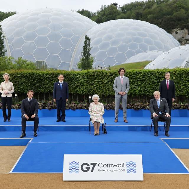EN DIRECT - Royaume-Uni: la famille royale britannique a rejoint le sommet du G7