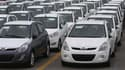 Véhicules du constructeur sud-coréen Hyundai Motor. Paris a transmis vendredi à la Commission européenne une demande de mise sous surveillance des importations de véhicules en provenance de Corée du Sud, afin de se donner les moyens d'une connaissance plu