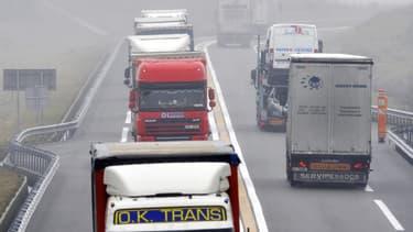 Les transporteurs routiers sont appelés à la grève dès dimanche soir (image d'illustration).