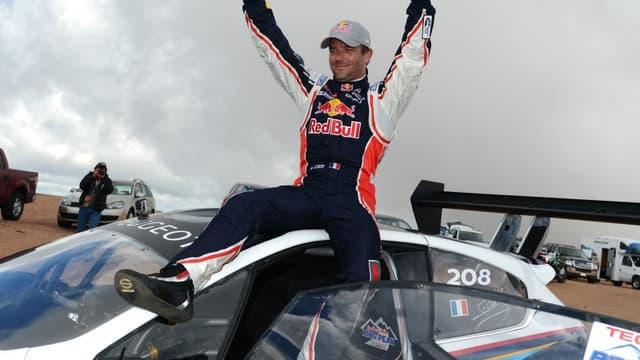 Sébastien Loeb à Pikes Peak