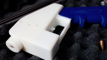 """""""Libérator"""", première arme à feu imprimable en 3D"""