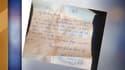La lettre d'amour a été retrouvée 60 ans plus tard.