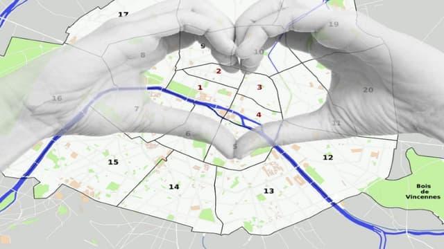 Les arrondissements du centre, rive droite, ont été particulièrement bien dotés.