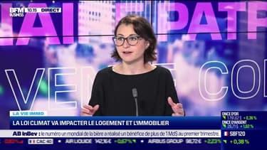 Marie Coeurderoy: La loi climat va impacter le logement et l'immobilier - 06/05