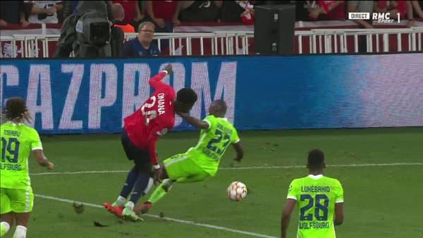 Pas de penalty pour Lille