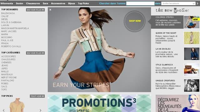 Yoox, créé en 2000, est le spécialiste de la vente de produits de luxe sur Internet.