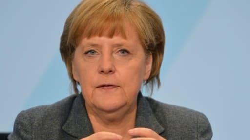 Angela Merkel n'obtiendra un gouvernement commun avec le SPD qu'à condition d'accepter de créer un salaire minimum.