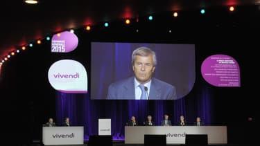 L'assemblée générale de Vivendi est devenu quasiment le seul moment où Vincent Bolloré s'exprime sur Canal Plus