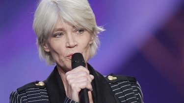 Françoise Hardy en 2005, aux Victoires de la musique -