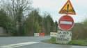 L'entrée de la zone d'aménagement différé (ZAD), où a lieu la manifestation du jour contre l'aéroport de Notre-Dame-des-Landes.