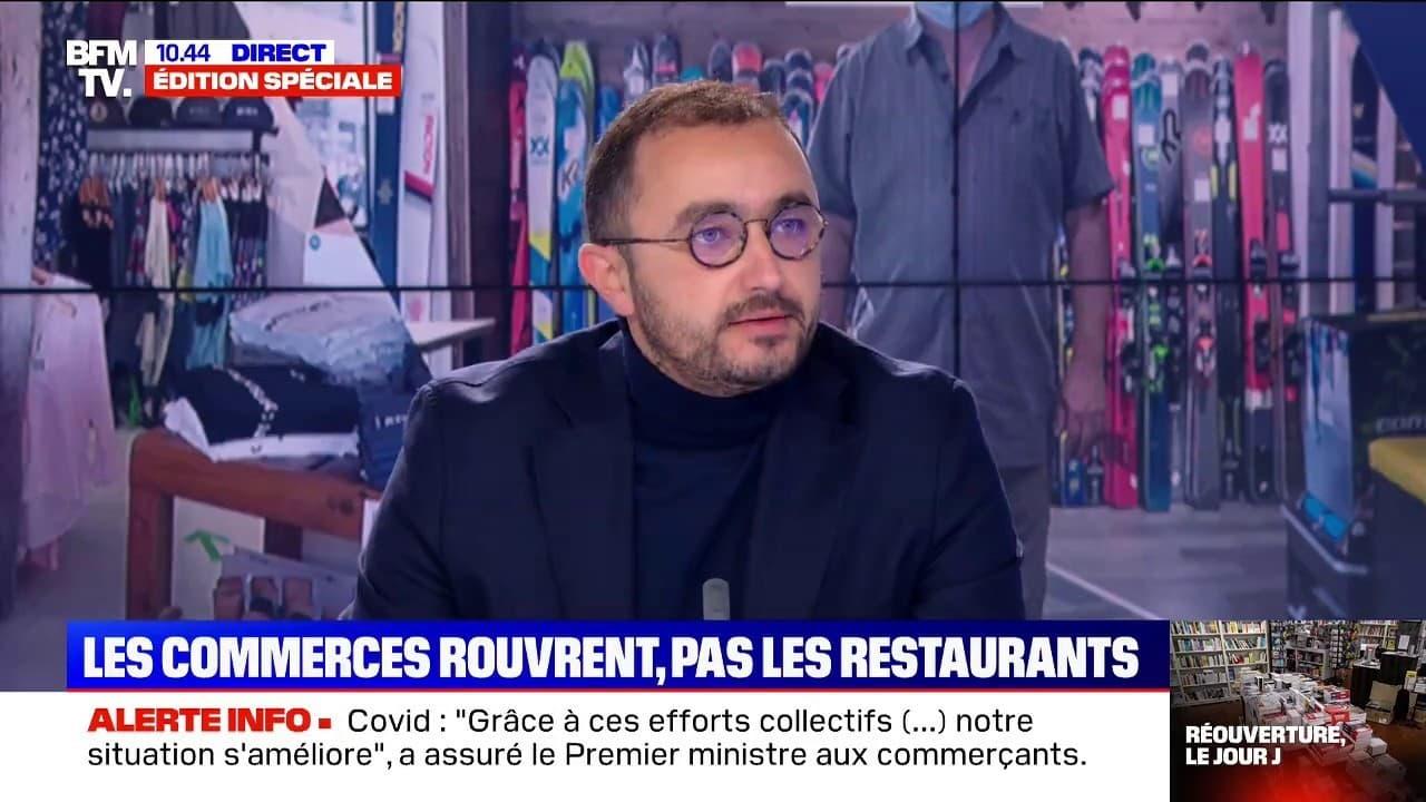 """Restaurants: le porte-parole de """"Restons ouverts"""" évoque """"une vraie dynamique"""" pour le click and collect"""