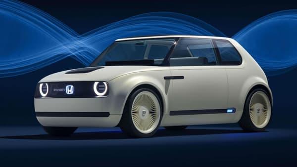Des petits airs de R5 futuriste sur le concept Urban EV de Honda