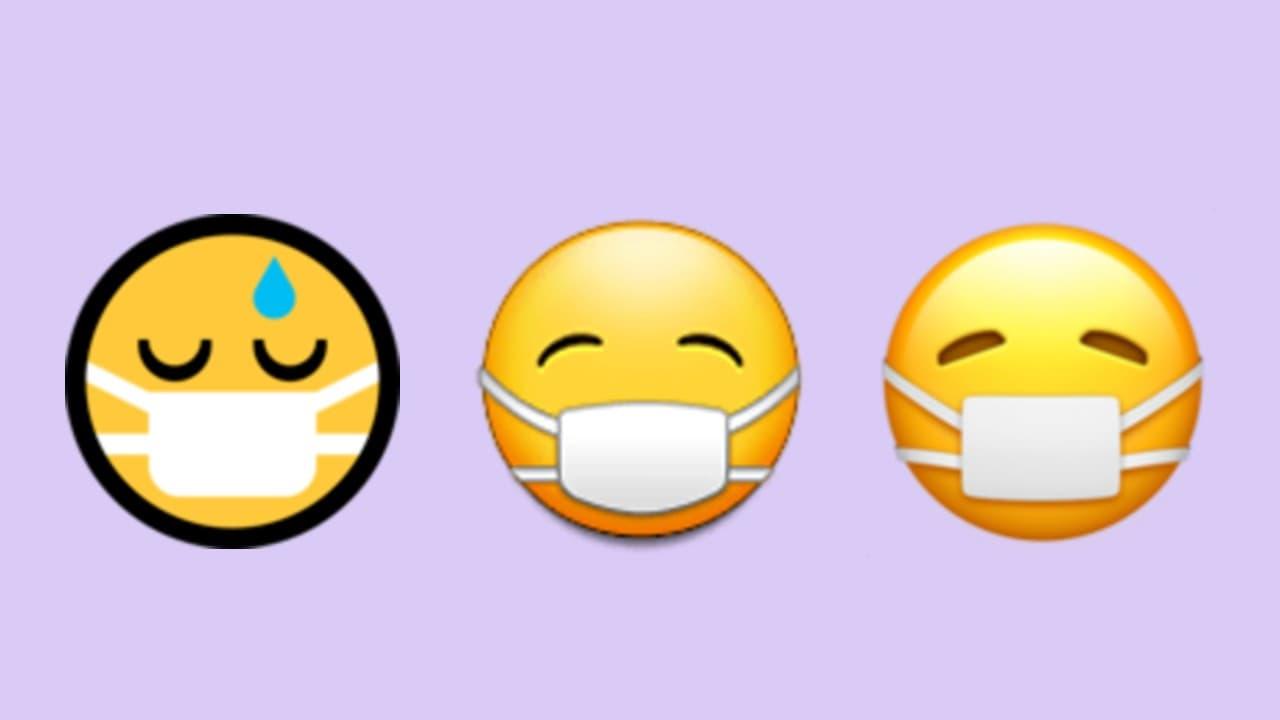 Visage Masque Souriant Le Nouvel Emoji Qui Manque A Votre Smartphone