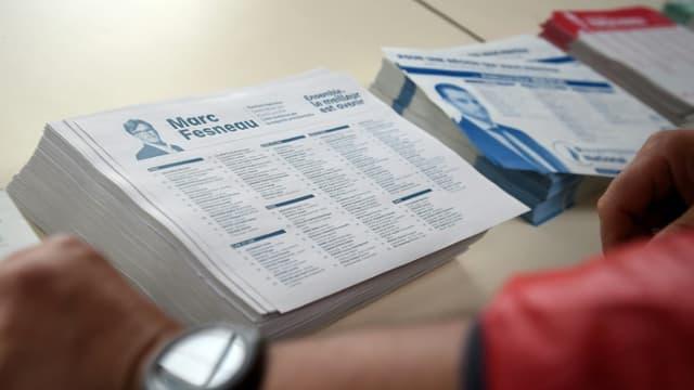 Adrexo et La Poste, chargés d'envoyer les professions de foi chez tous les électeurs, sont convoqués au ministère de l'Intérieur