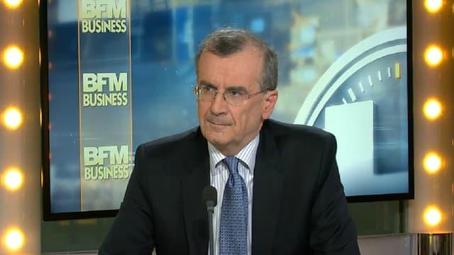 François Villeroy de Galhau était l'invité de BFM Business ce mercredi 8 février