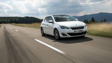 La Peugeot 308 a été choisie par l'ACA comme véhicule témoin pour la voiture diesel d'un grand rouleur.