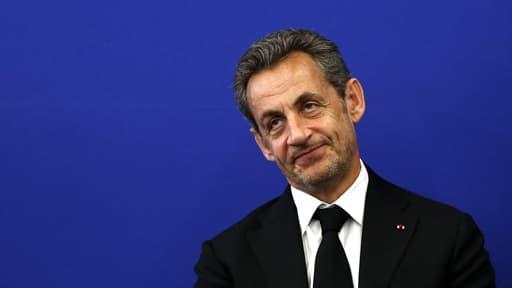Nicolas Sarkozy, ici le 10 mars, évoque son retour et une éventuelle candidature à la présidence de l'UMP dans une interview à ''Valeurs Actuelles''.