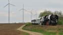 A l'horizon 2018, les chemins de fer utiliseront uniquement l'énergie éolienne comme carburant.