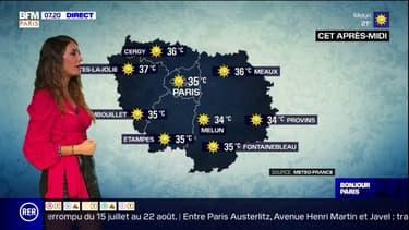 Météo: le thermomètre s'enflamme ce jeudi en Ile-de-France avec 35°C dans l'après-midi