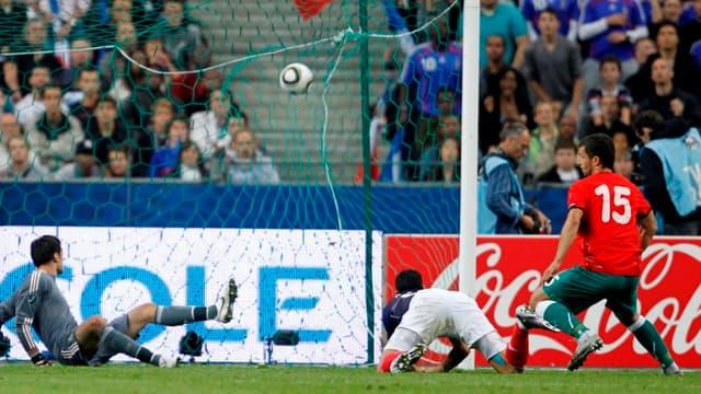 Le Biélorusse Sergei Kislyak avait crucifié les Bleus à l'aller (1-0).