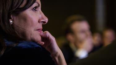 Anne Hidalgo, la maire de Paris.