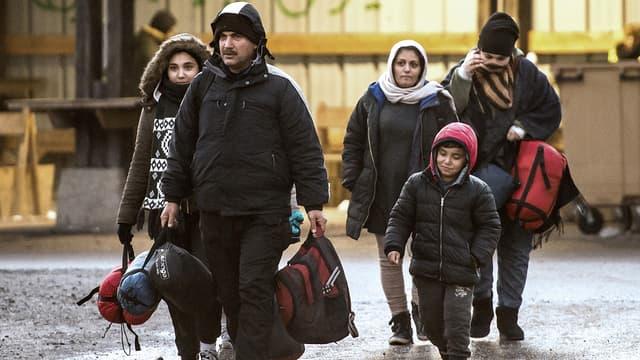 19 migrants ont entamé une grève de la faim, après le refus de l'Angleterre de les accueillir sur son territoire. (Photo d'illustration)