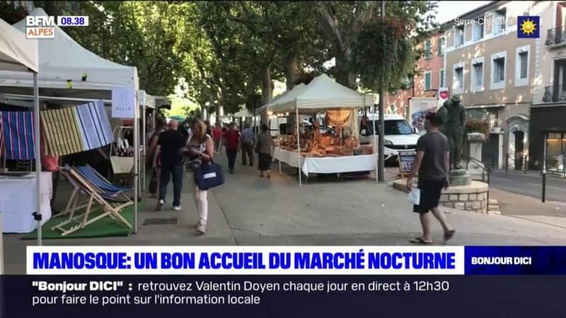 Manosque : un bon accueil du marché nocturne