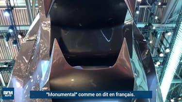 Genève 2018: Peugeot expose un gigantesque lion