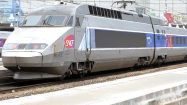 """La SNCF prévoit mardi """"un trafic normal"""" sur ses grandes lignes et en Ile-de-France, malgré l'appel à la grève de la CGT (illustration)."""