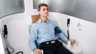 """La """"Consult Station"""", la première cabine de téléconsultation médicale"""
