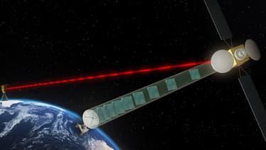 Le système EDRS reposera sur une constellation de satellites géostationnaires.