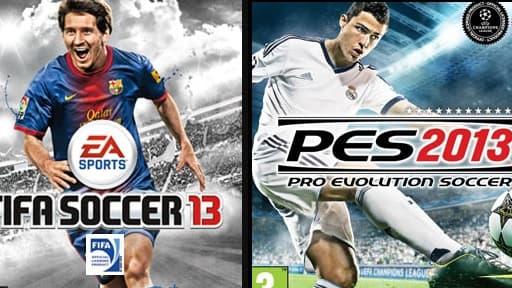La version 2013 de Fifa sera officiellement disponible ce jeudi, une semaine après son concurrent PES.
