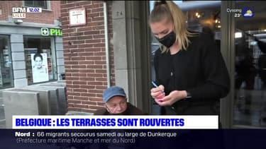 Belgique: les terrasses ont rouvert ce week-end