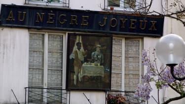 """L'enseigne """"Au nègre joyeux"""" doit être exposée au musée Carnavalet."""