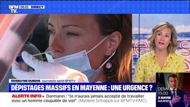 Dépistages massifs en Mayenne: une urgence ? - 13/07