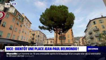 Nice: bientôt une place Jean-Paul Belmondo