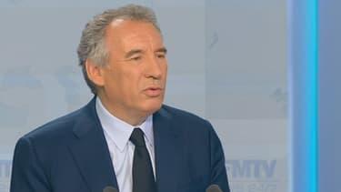 François Bayrou était l'invité de BFMTV, ce mercredi soir.