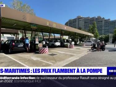 Alpes-Maritimes: le prix de l'essence ne cesse de grimper