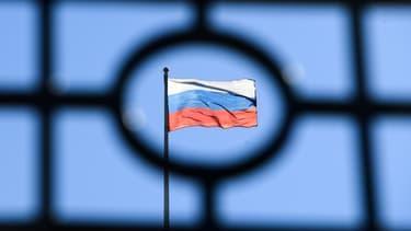 Un drapeau russe (photo d'illustration)