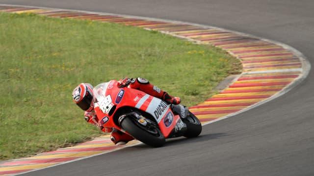 Nicky Hayden en action avec la GP12