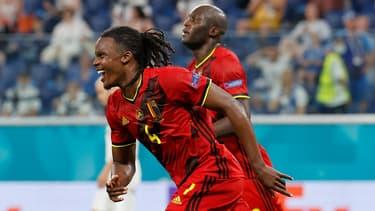 Dedryck Boyata à l'Euro avec la Belgique