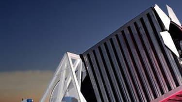 Le télescope de la Fondation Sloan, au Nouveau-Mexique, possède un miroir de 2,5 mètres de diamètre.