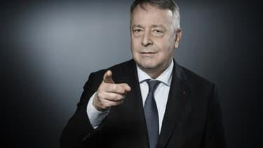 Le PDG de Véolia Antoine Frérot, le 10 janvier 2018 à Paris